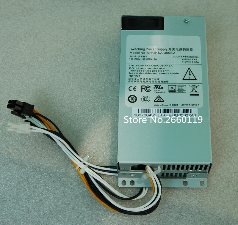 Fuente de alimentación para KSA-300S2 280W, totalmente probada