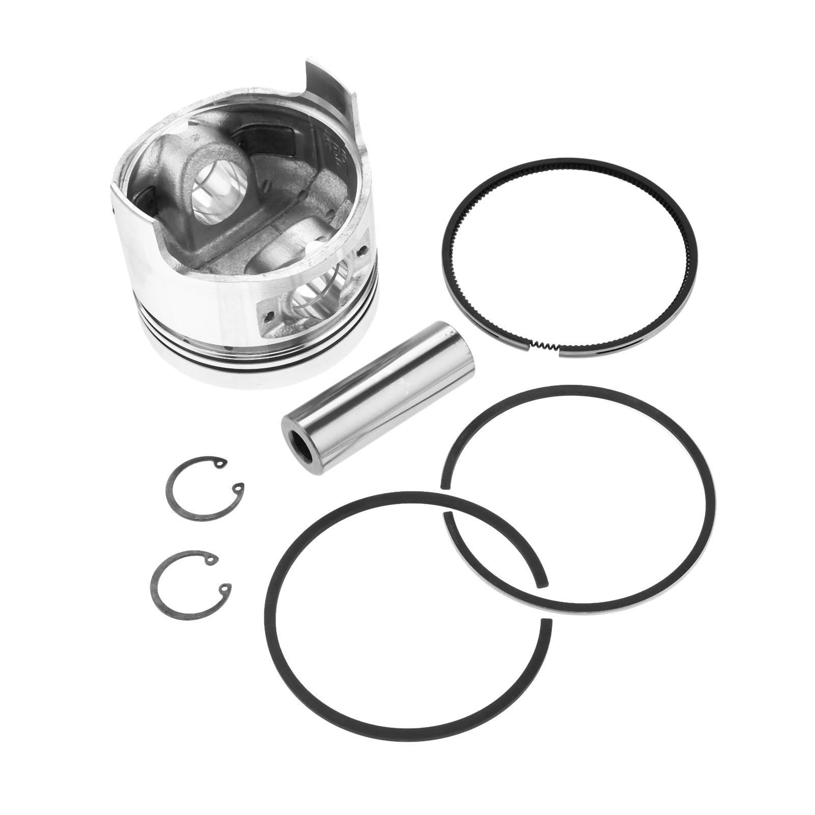 Conjunto de pistón drreld con anillo de pistón, conjunto de anillo de pistón para piezas del generador de motor Diesel chino 186F 86mm