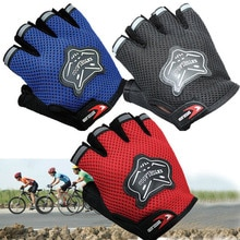 2020 High Quality Children Kids Bike Gloves Half Finger Breathable Anti-slip For Sports Riding Cycli