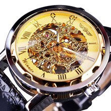 Classic Watches Men Top Brand Luxury Fashion Skeleton Watches Men Mechanical Hand Wind Watch Roma Di