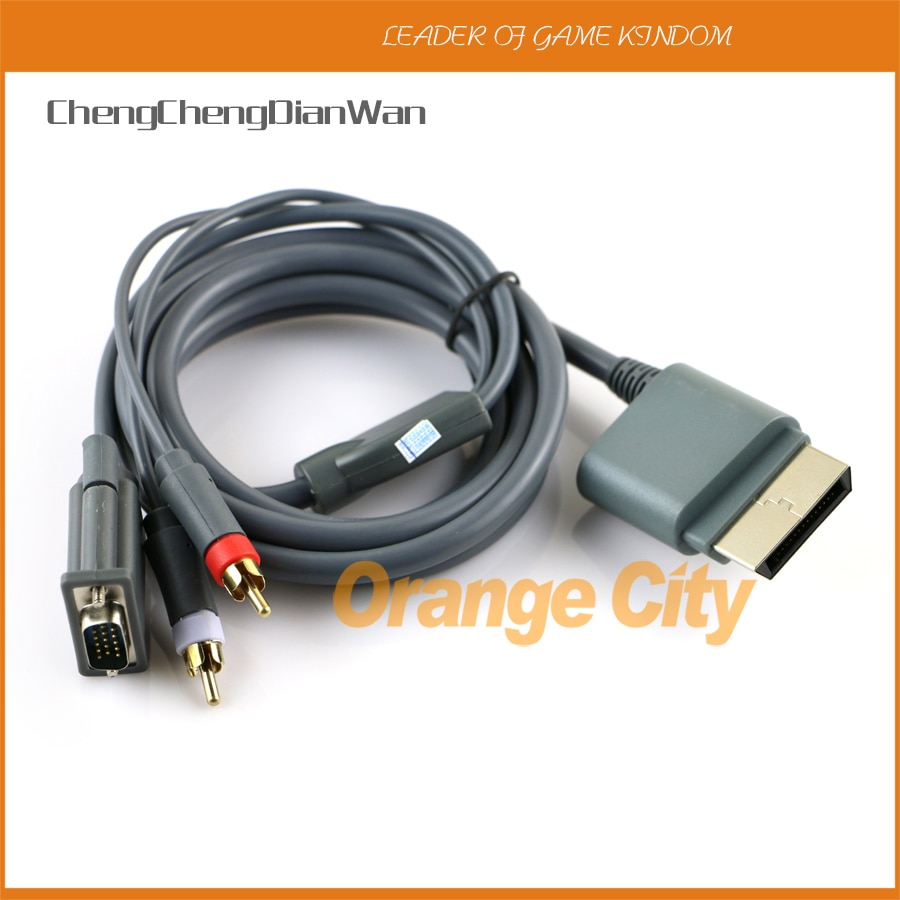 ChengChengDianWan-Cable de alta definición para xbox360, pieza de 1,8 m, VGA, HD,...