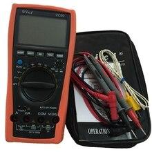 Multimètre numérique de gamme automatique VC99 3 6/7 meilleur ampèremètre DCV/ACV/ACA mètre de fréquence de résistance avec sac