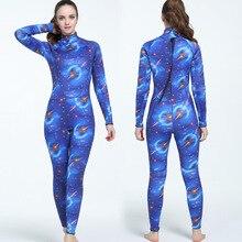 Mme 3mm Joint en caoutchouc Camouflage Submersible costume pour le surf costume pour prévenir la chaleur froide combinaison de plongée pour les femmes taille S-XXL MY058