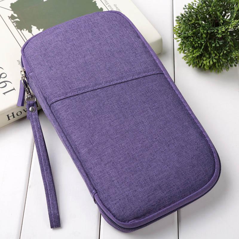 Новое поступление 1 шт. кошелек держатель для паспорта Органайзер большая емкость портативный для карт деньги