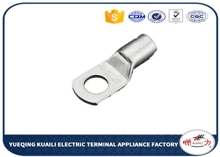 100 Uds. Cables de cobre conectores de Terminal de cableado que conectan SC16-6 de cobre de tubo de Terminal estañado