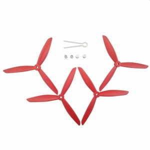 MJX Bugs 3 PRO B3 PRO HS700 HS700D Quadcopter Upgrade accessories drone three-bladed red propeller