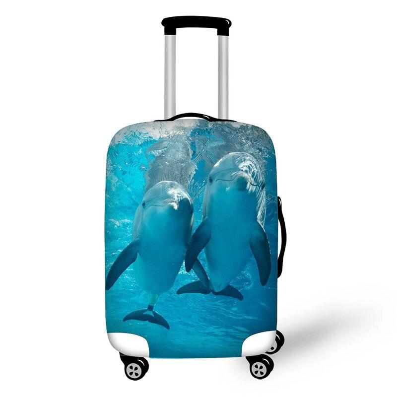 Чехол, плотный эластичный защитный чехол для багажа, чехол на молнии для багажника 18-32 дюйма, дорожные сумки, чехол для костюма, чехол чехол