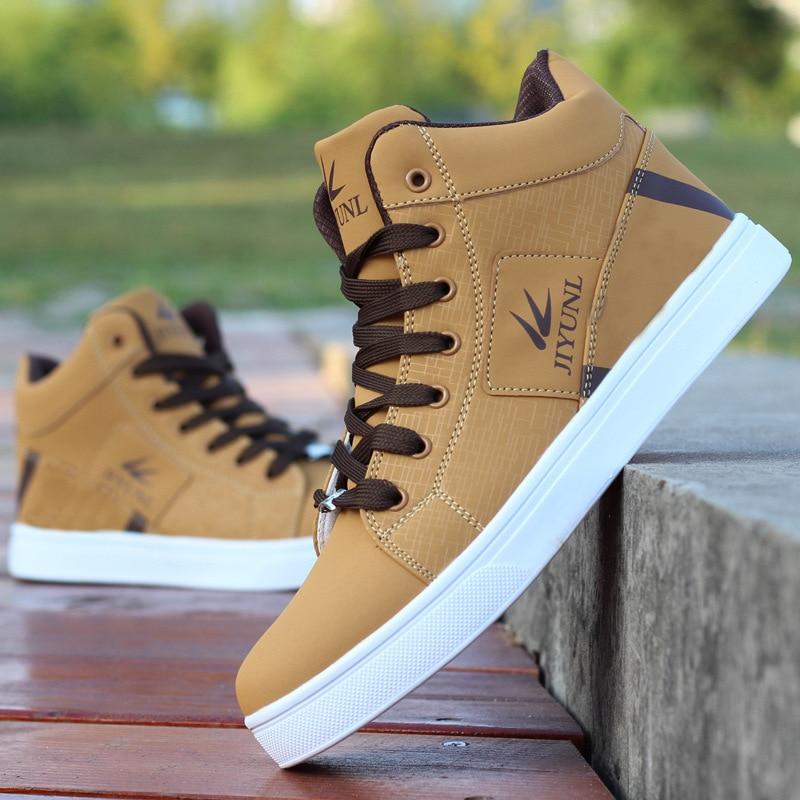 Мужские высокие кроссовки; Повседневная обувь для скейтбординга; Спортивная обувь; Дышащая прогулочная обувь в стиле хип-хоп; Уличная обувь...