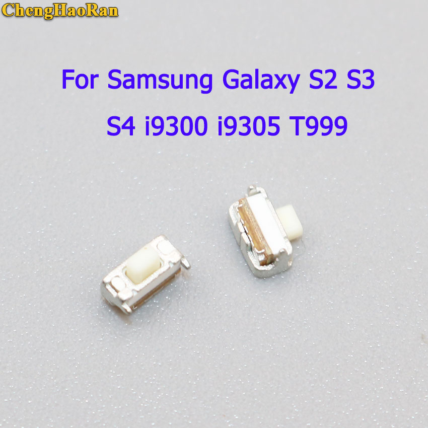 ChengHaoRan 10 pcs Botão Interruptor de Alimentação Para Samsung Galaxy i9300 S2 S3 S4 i9500 i9505 T999 para LG Google Nexus 5 D820 D821
