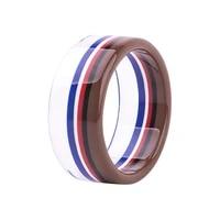 guanlong 2021 new fashion multicolor mixed exquisite stripe resin bangle bracelets acrylic craft bracelet for women jewelry
