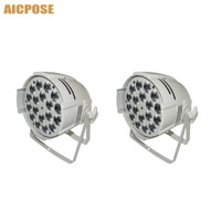 2pcs/lots 18*10w Light Aluminum LED Par 18x10W RGBW 4in1 LED Par Can Par 64 led spotlight dj projector wash lighting stage light