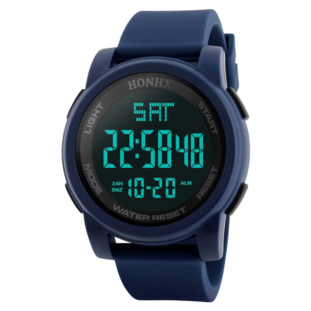 PANARS NEW Fashion High Quality Man Watch Luxury Men Analog Digital Military Army Sport LED Waterproof Wrist Watch Freeship N5