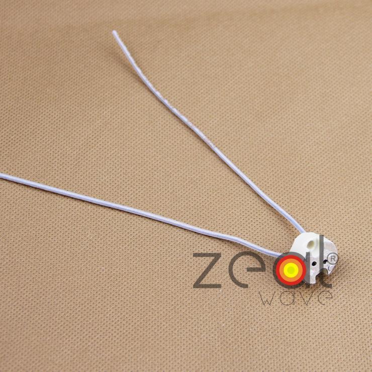1 Uds VS 324 halógeno portalámparas G4 GZ4 GX5.3 GU5.3 GY6.35 GZ6.35 cable de alta temperatura base de lámpara VS32400