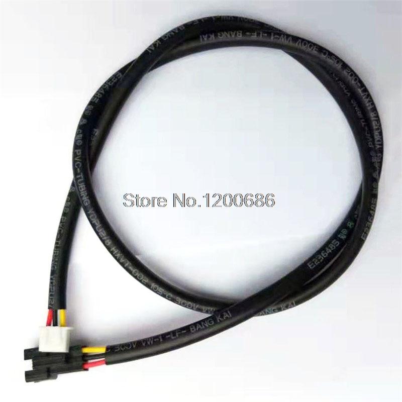 3M XH2.54 3Pin SM2.54 XH SM 22AWG SM-3P hembra a XH2.54 3P arnés de cable con manga de PVC 3000mm dirección inversa