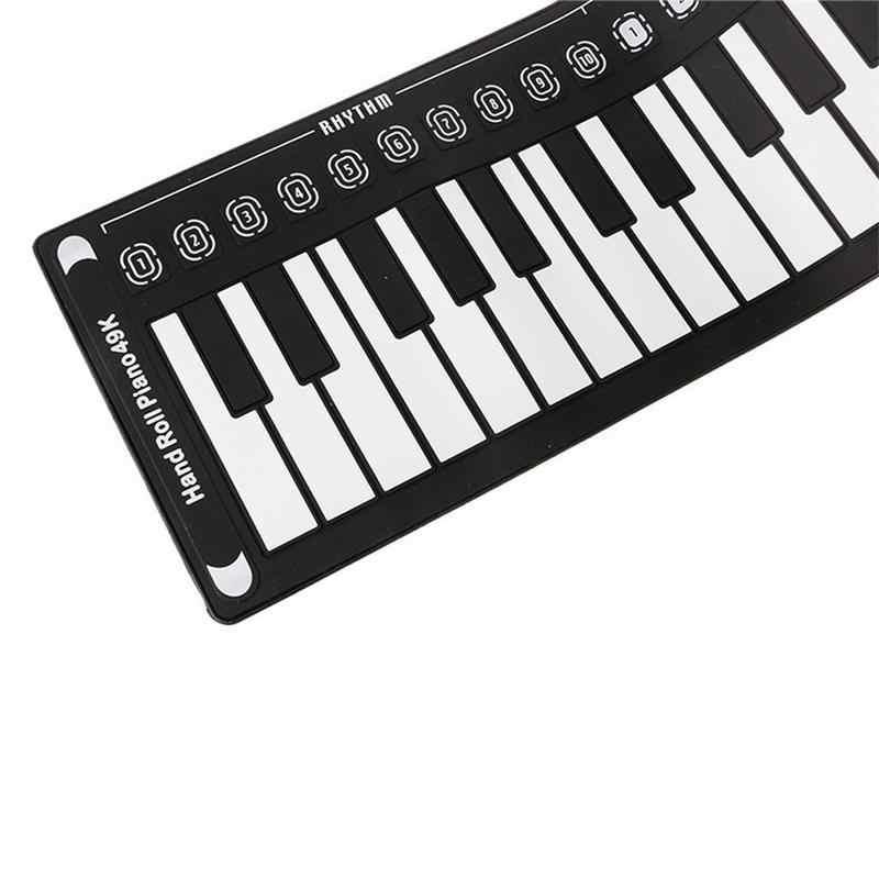 Piano Profesional De 49 Teclas Enrolladas A Mano Controlador De Teclado Usb Midi Piano Electrónico De Mano Con Altavoz Instrumento Musical órgano Electrónico Aliexpress