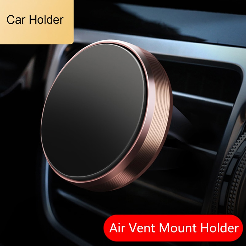 Coche titular de montaje de ventilación de aire magnético soporte para teléfono móvil para Audi A3 A4 A5 A6 A7 A8 B6 B7 B8 C5 C6 TT Q3 Q5 Q7 S3 S4