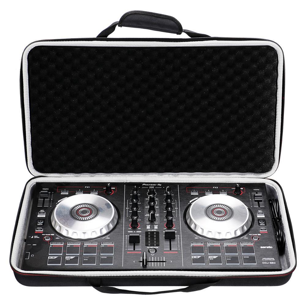 LTGEM حالة ل بايونير DJ DDJ SB3/DDJ SB2/DDJ 400 أو المحمولة 2 قناة تحكم أو DDJ-RB الأداء DJ تحكم حالة