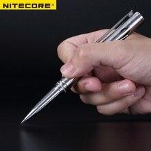 NITECORE NTP20 di Auto-difesa Multi-Funzionale In Lega di Titanio Tattico Penna Ergonomica In Acciaio Al Tungsteno Punta Conica