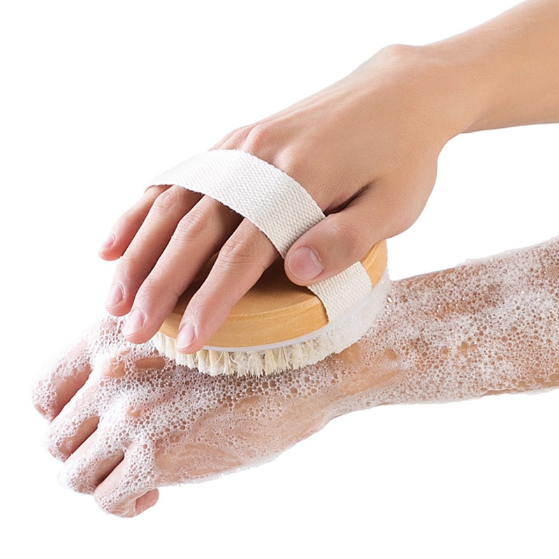 vanzlife  bath brush MAO fur rub brush back rub mud bath brush shower towel back rubbing