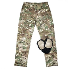 TMC USA taille de coupe originale G3 pantalon de Combat Multicam pantalon tactique hommes équipement avec genouillères (SKU051180)