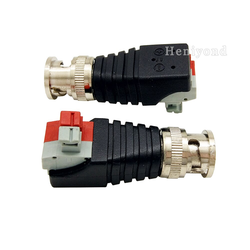 5PCS Coaxial Coax BNC Connector Coax BNC Twist with Push Fastening Type For CCTV Camera enlarge