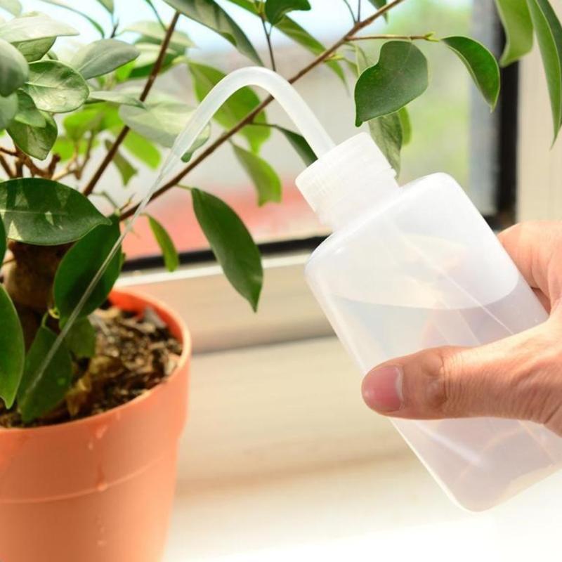 150ML jardin plantas carnosas pico gotero botella de agua hervidor de Alcohol para Flowerpot PLANTAS INTERIOR riego Kits de herramientas de jardín
