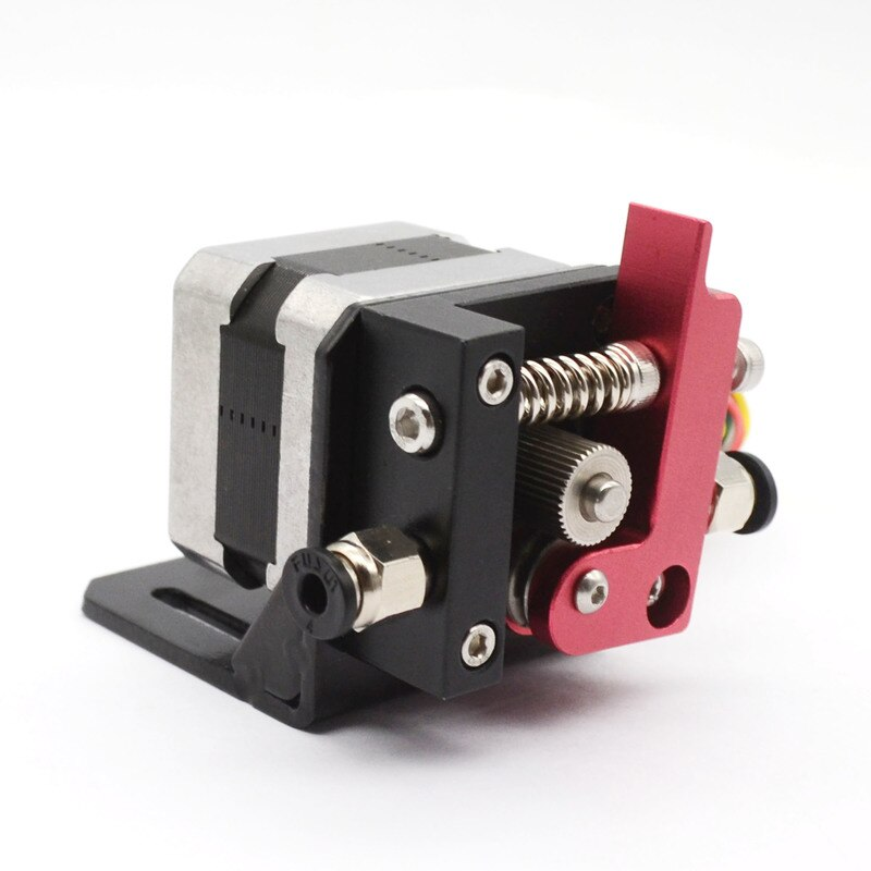 Impresora 3D Reprap Makerbot8 MK8 extrusora de aluminio Bowden mano izquierda/derecha con Motor paso a paso 1,75mm Fliament