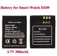 1 Pc 3.7V 380 Mah Oplaadbare Batterij Voor Slimme Horloge Dz09 RYX-NX9 Smartwatch Vervangende Batterij Voor DZ09 A1 Smart horloge Batterij