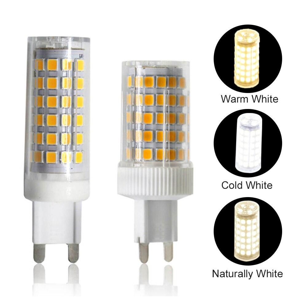 YWXLight G9 lampe à LED SMD 2835 Dimmable 9W 10W LED ampoule ca 220V 240V 76LED s 86LED s G9 lampe remplacer lampe halogène