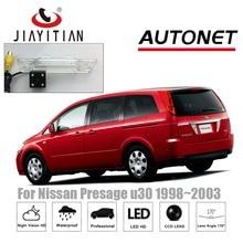 Cámara de visión trasera JiaYiTian para Nissan Presage U30 1998 1999 2000 2001 2002 2003 CCD/visión nocturna cámara de marcha atrás de aparcamiento