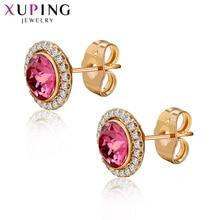 Xuping bijoux hypoallergénique boucles doreilles cristaux de Swarovski mignon Design populaire pour les femmes cadeau danniversaire S169.1-20610