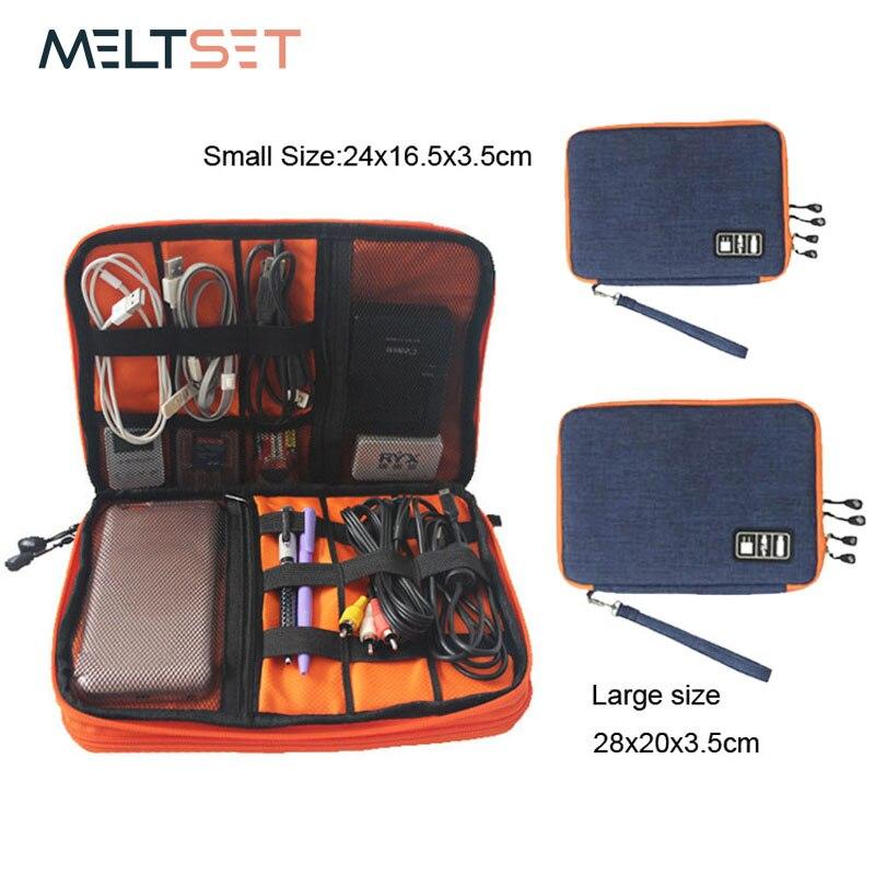 Водонепроницаемая сумка для хранения Ipad, органайзер, usb-кабель, кабель для наушников, ручка, внешний аккумулятор, дорожная сумка для хранения, комплект, чехол, цифровые гаджеты, устройства