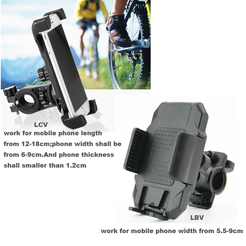 Soportes giratorios para manillar de bicicleta y motocicleta para Xiaomi mi 9 SE, Red mi Go