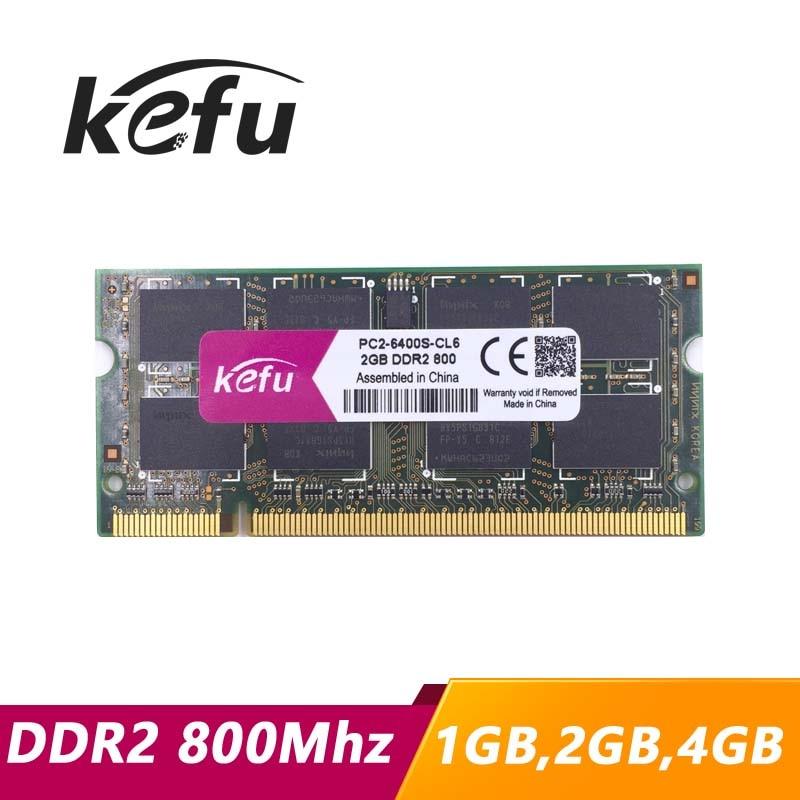 Memoria ddr2 para portátil, 1gb, 2gb, 4gb, 8gb, 800 pc2-6400, sodimm, ddr2...