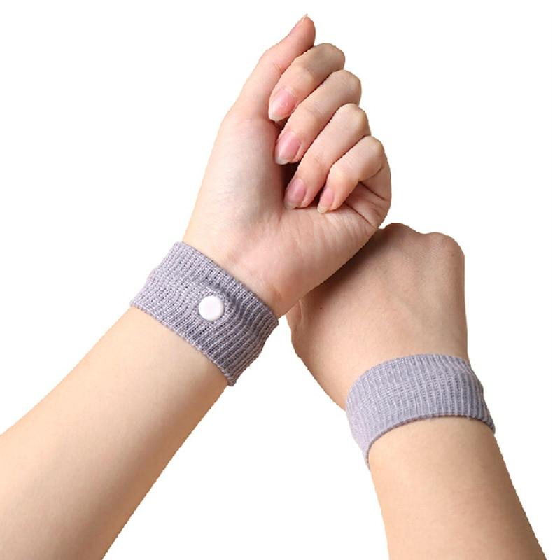 1 Pza pulseras Anti-nausea mujeres niñas Anti Nausea coche Anti Nausea mareo movimiento reutilizable mareo pulseras de viaje