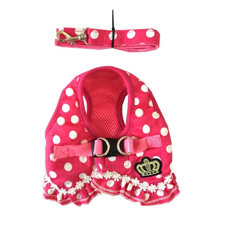 Роскошный дизайн для девочек, нагрудный ремень для домашних собак, бесплатная доставка, принадлежности для маленьких щенков