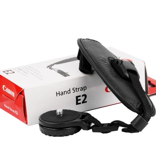 Новый наручный ремешок E2 для камеры Canon EOS 1D 5D 7D Mark II III 6D 70D 60D 700D 650D 600D 550D 1100D T5i T4i T3i T2i T3