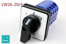Interrupteur à caméra rotatif   1 pièce de haute qualité/4 3 positions 20A 4 pôles électrique universel commutateur de caméras rotatives contacts argentés