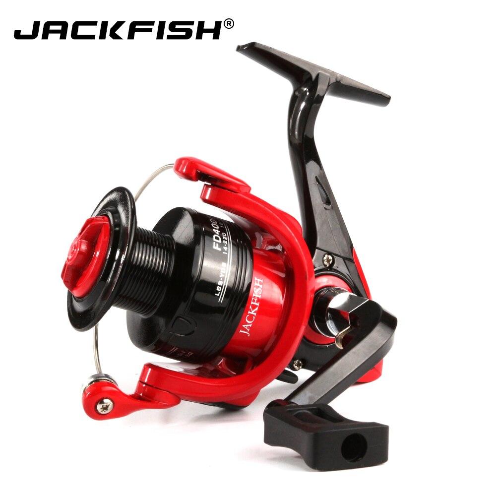 Carretes de pesca de alta velocidad JACKFISH G-Ratio 5,0: 1, carrete de pesca plegable
