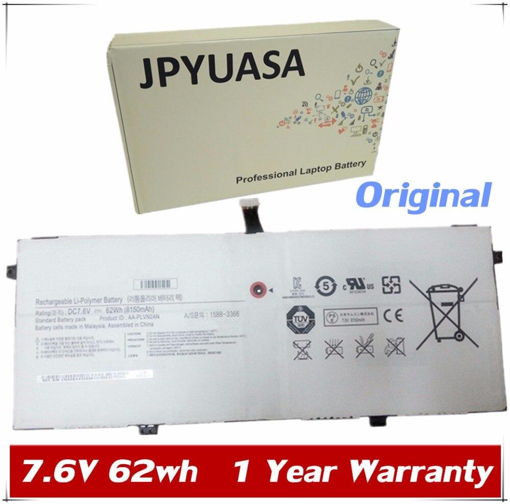 7XINbox 7,6 V 8150mAh 62wh batería AA-PLVN2AN para SAMSUNG ATIV 930X5J NP930X5J para libro 9 edición 2014 930X5J-K01 NP930X5J-K02DE