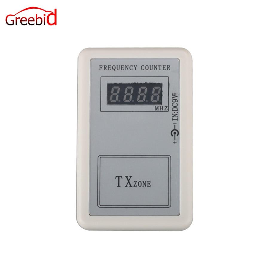 Transmisor de Control remoto de buena calidad Mini contador de frecuencia digital (250 MHZ-450 MHZ) Mini contador de frecuencia digital