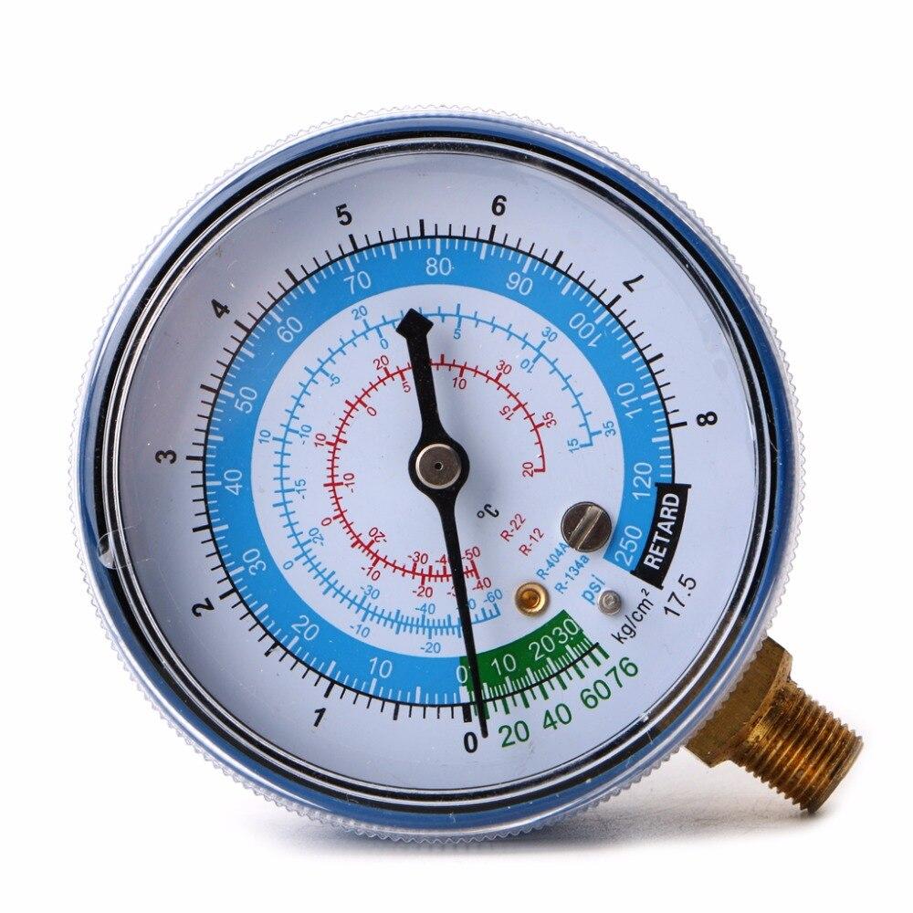 Новый охладитель воздуха R410A R134A R22, датчик низкого давления PSI KPA, синий, 828