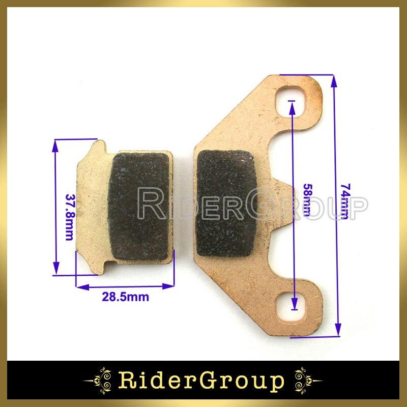 Cobre romper pinza de almohadillas para 50cc 70cc 110cc 125cc 140cc SDG SSR Coolster Orion demonio Stomp Pit Dirt Bike envío gratis