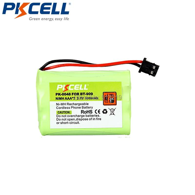 Reemplazo de batería de 3,6 V Modelo de BT-909 para Uniden BT909 reemplazo de batería inalámbrica
