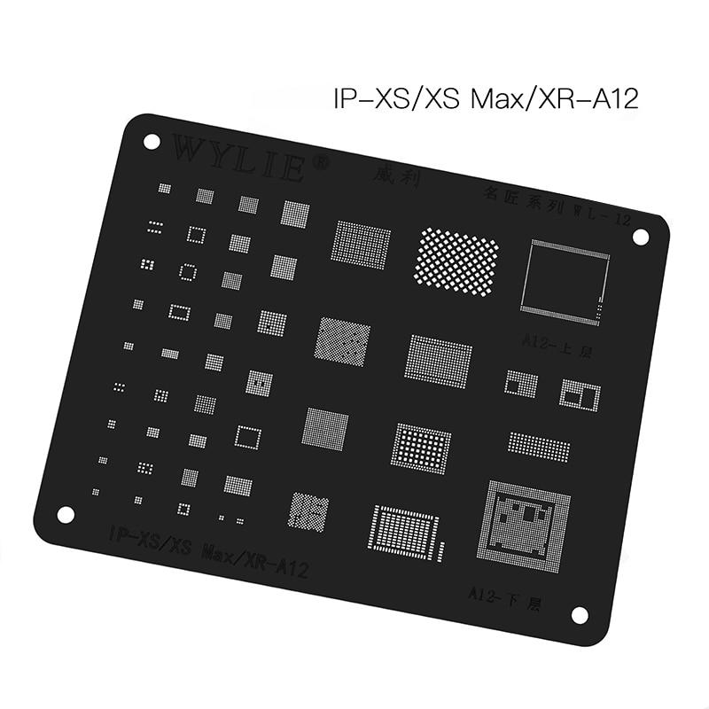Reboleo de plantilla para iPhone XS max XR 8X8 P 8 7P 7 6P 6 de banda base CPU RAM Nand cargador USB WiFi U2 Power PMIC IC Chip único