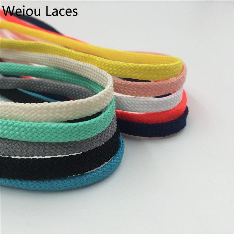 Спортивные кроссовки Weiou, 7 мм, на плоской подошве, с трубчатыми шнурками, разных цветов, из полиэстера