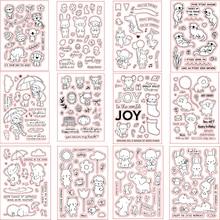 Timbre de pâques en Silicone 2019 Transparent   Animal mignon, Scrapbooking/Album Photo artisanal, fabrication de cartes, timbre décoratif