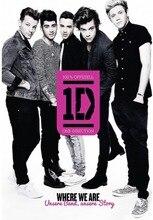 Custom One Direction Poster 1D Liam Payne Sticker Louis Tomlinson Behang Harry Stijlen Muurstickers Niall Horan Decor #1255 #
