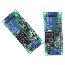 1 pièces multifonction numérique temps infini commutateur de retard minuterie relais Module Dc 5v 12v 24v