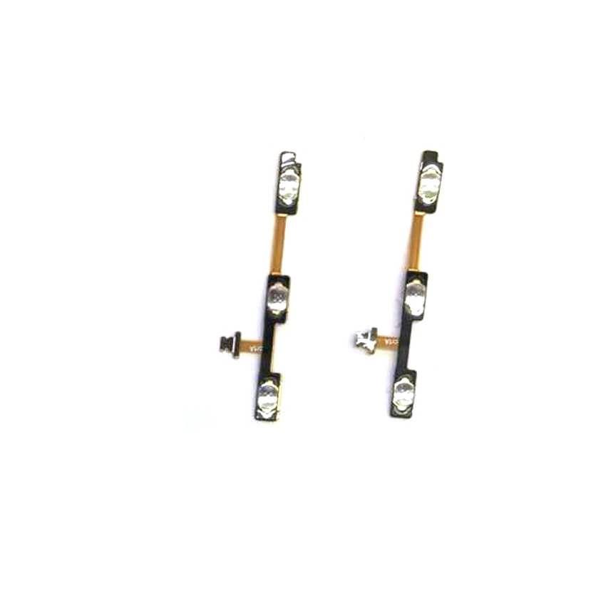 Interruptor de botón lateral flexible para ZTE Blade A6 A6 Lite volumen y encender y apagar reemplazo de cable flexible